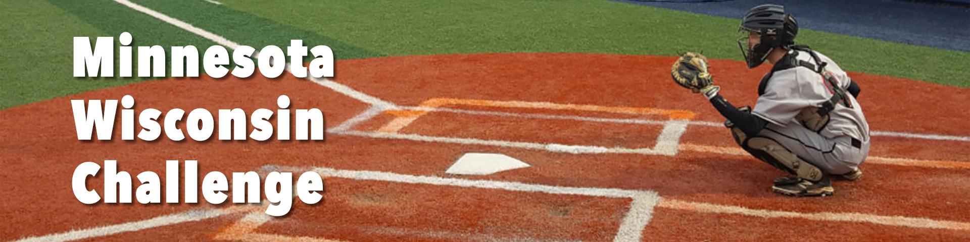 Minnesota Wisconsin Baseball Challenge banner