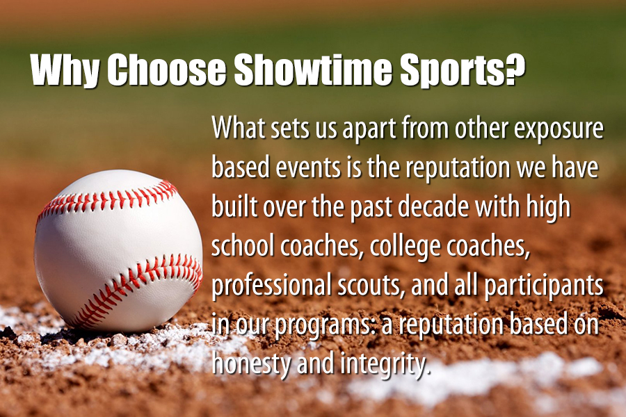 why choose showtime sports