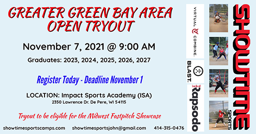 Greater Green Bay Area Open Tryout