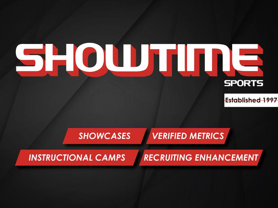 Showtime Sports Website