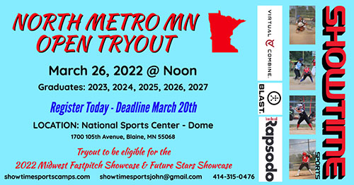 North Metro MN Open Tryout