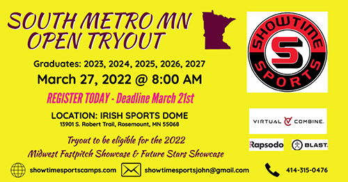 South Metro MN Open Tryout